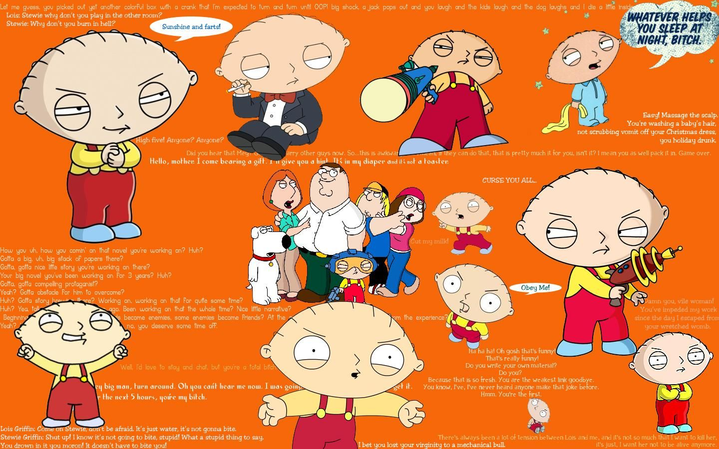 Nice Stewie With The Suit: My New Tatoo. Family Guy QuotesThe ...