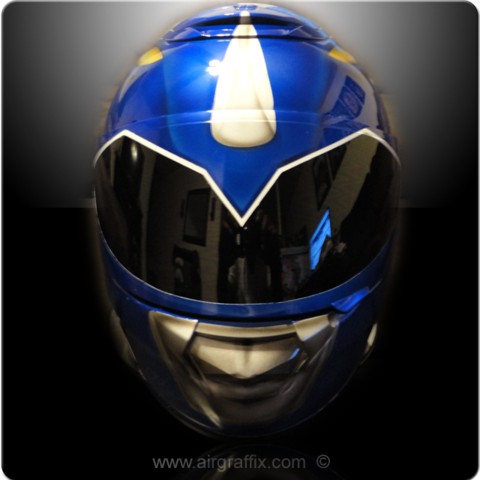 Power Rangers Motorcycle Helmets Its Riding Time
