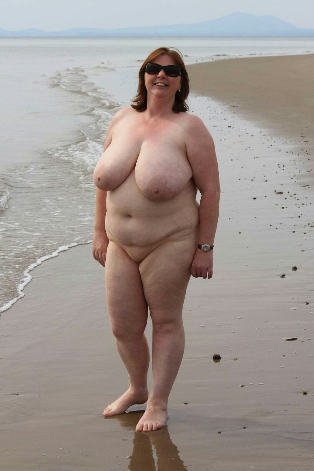from Hunter fat naked chicks on beach