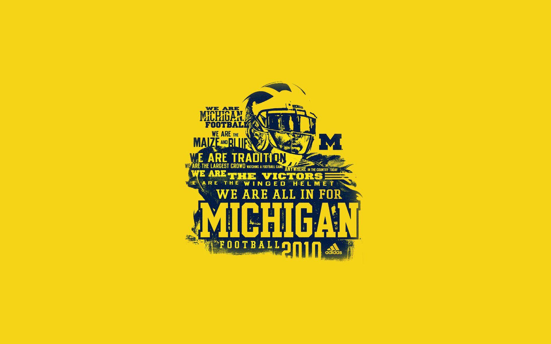 Michigan Wolverines Football Hd Background Game Day Shirts Michigan Wolverines Football Michigan