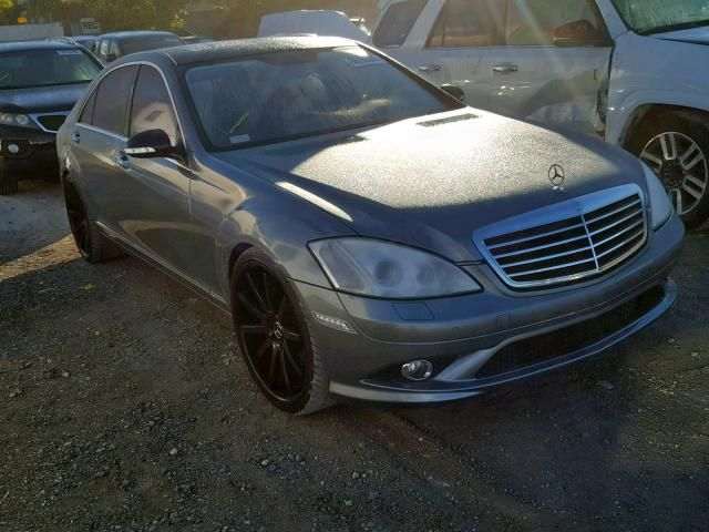 Mercedes Benz,S CLASS,[2007 TO 2014] For Auction at Copart
