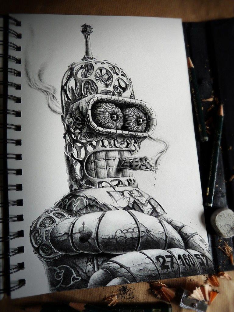More Crazy Illustrations By Pez Arte De Peces Produccion