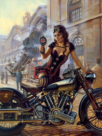 Resultado de imagen de motorcycle art