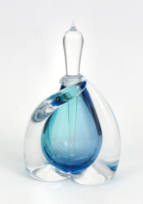 Unique perfume bottles central home shop art glass for Unique glass bottles