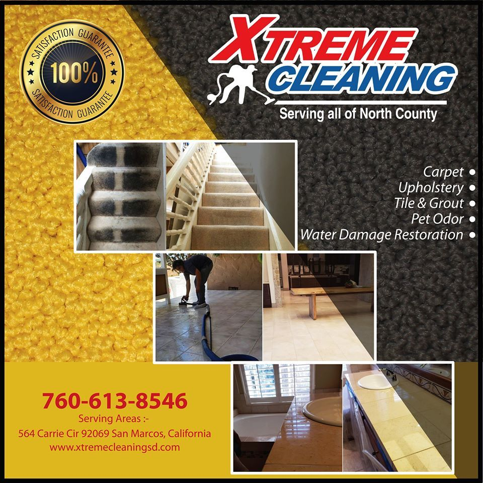 The mission of Xtreme Cleaning is to help people live healthy lives, which starts with a healthy home and clean carpets.  If you are in San Marcos, Poway, and all Nearby Location. CALL NOW: 760-613-8546  #carpetcleaning #uphosterycleaning #tileandgroutcleaning #petodorremoval #waterdamagerestoration #professionalcarpetcleaninginsanmarcos #sanmarcoscalifornia