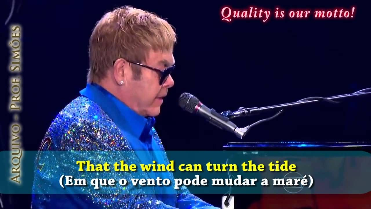Skyline Pigeon Elton John Rock In Rio 2015 Legendado Hd