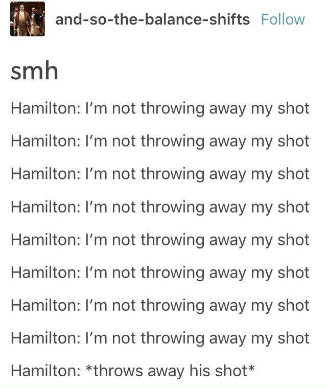Hamilton why???
