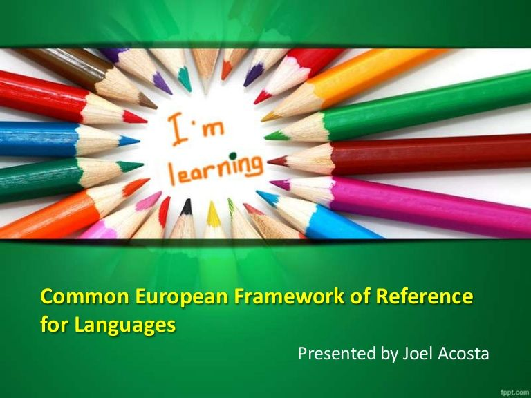 Cefr common european framework of reference for languages teacher creative kids learning powerpoint art background and template toneelgroepblik Choice Image