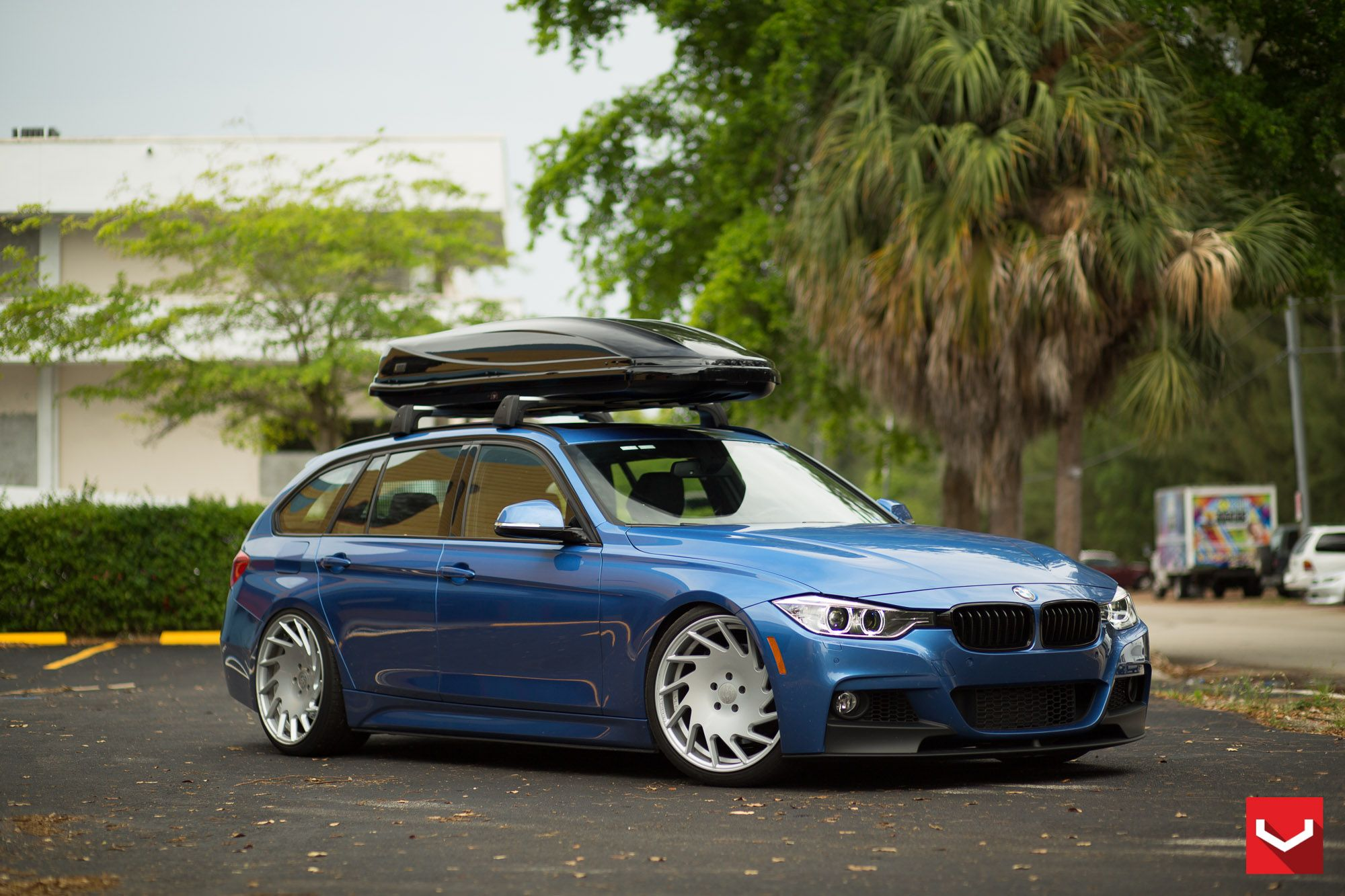 BMW 328i Sports Wagon On Vossen Wheels Bmw wagon, Bmw