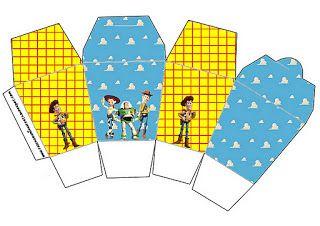 LARGE PRINTABLE SET- Toy Story – Kit Completo com molduras para convites, rótulos para guloseimas, lembrancinhas e imagens! | Fazendo a Nossa Festa