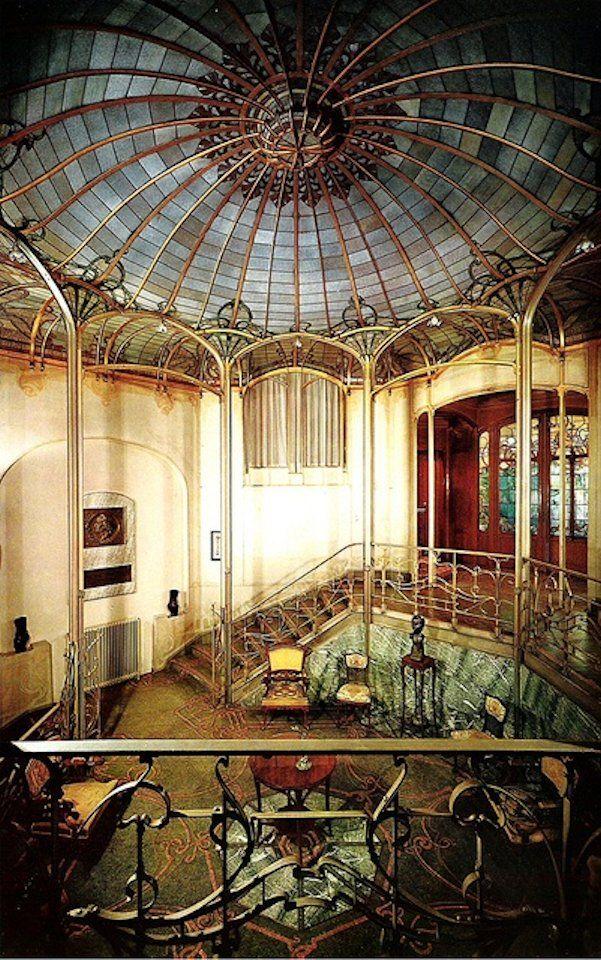 Victor horta 1895 hotel van eetvelde brussels art for Architecture art nouveau