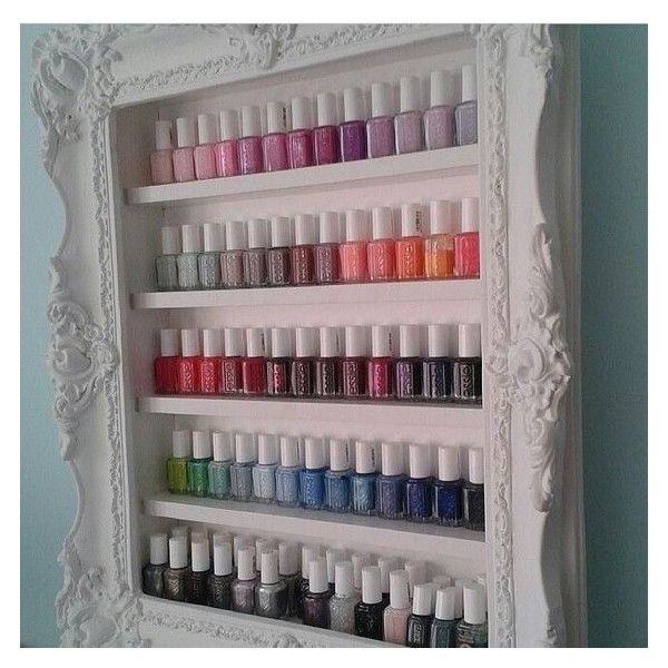 6 Creative Ways To Store Your Nail Polish Liked On