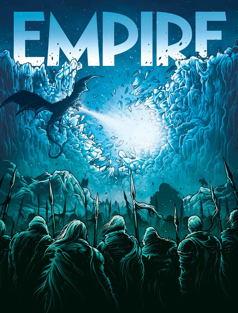 Dan Mumford Game Of Thrones Empire Magazine Dan Mumford Empire Games Empire