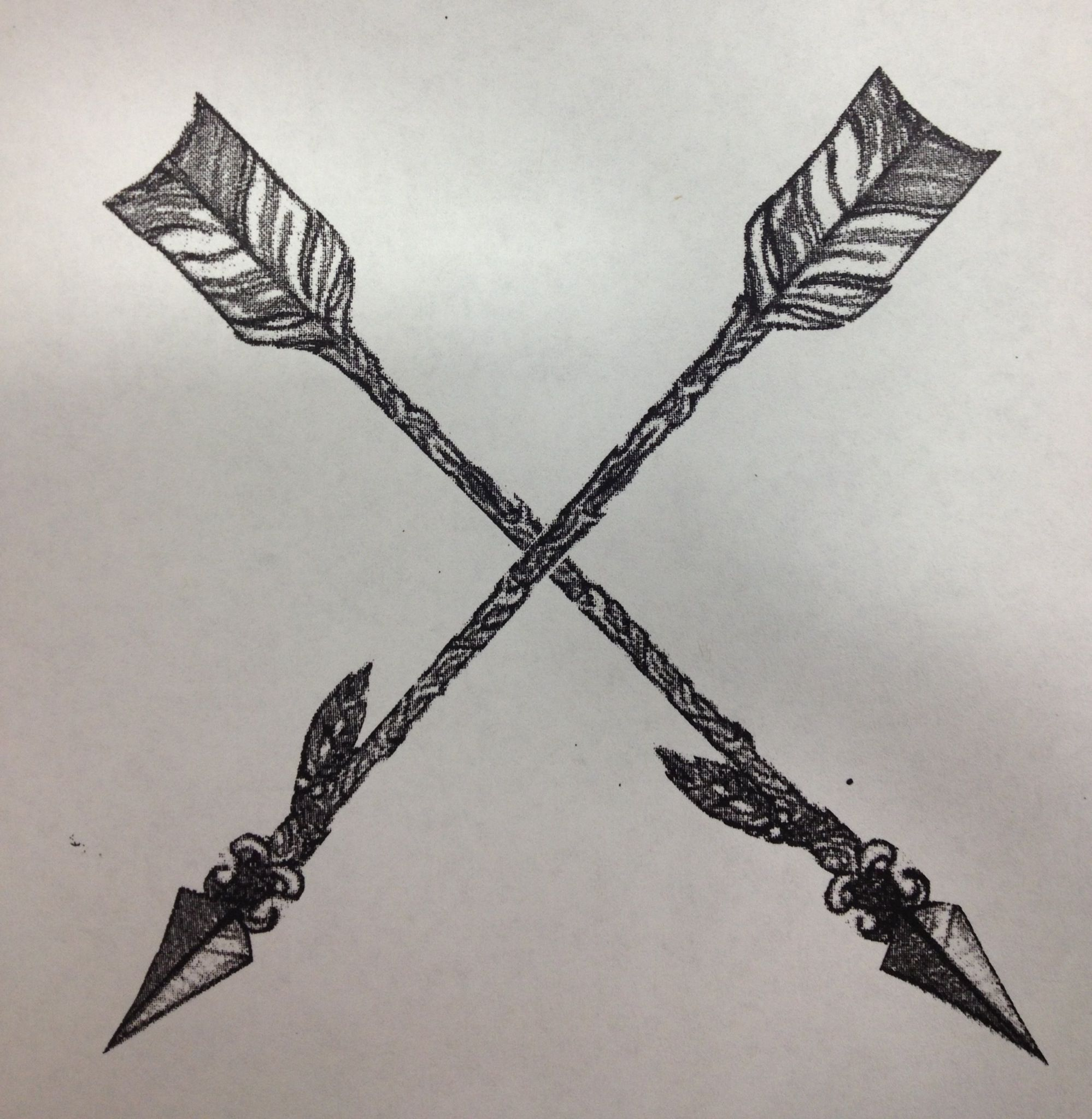 Friendship tattoo idea tattoo ideas pinterest for Crossed arrow tattoo
