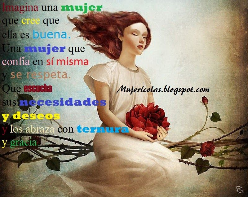 "Mujerícolas: Mujeres que se aman a sí mismas.""Woman in Love with Herself """