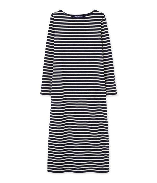 60a21e3046e1 Robe marinière femme longue   Mode