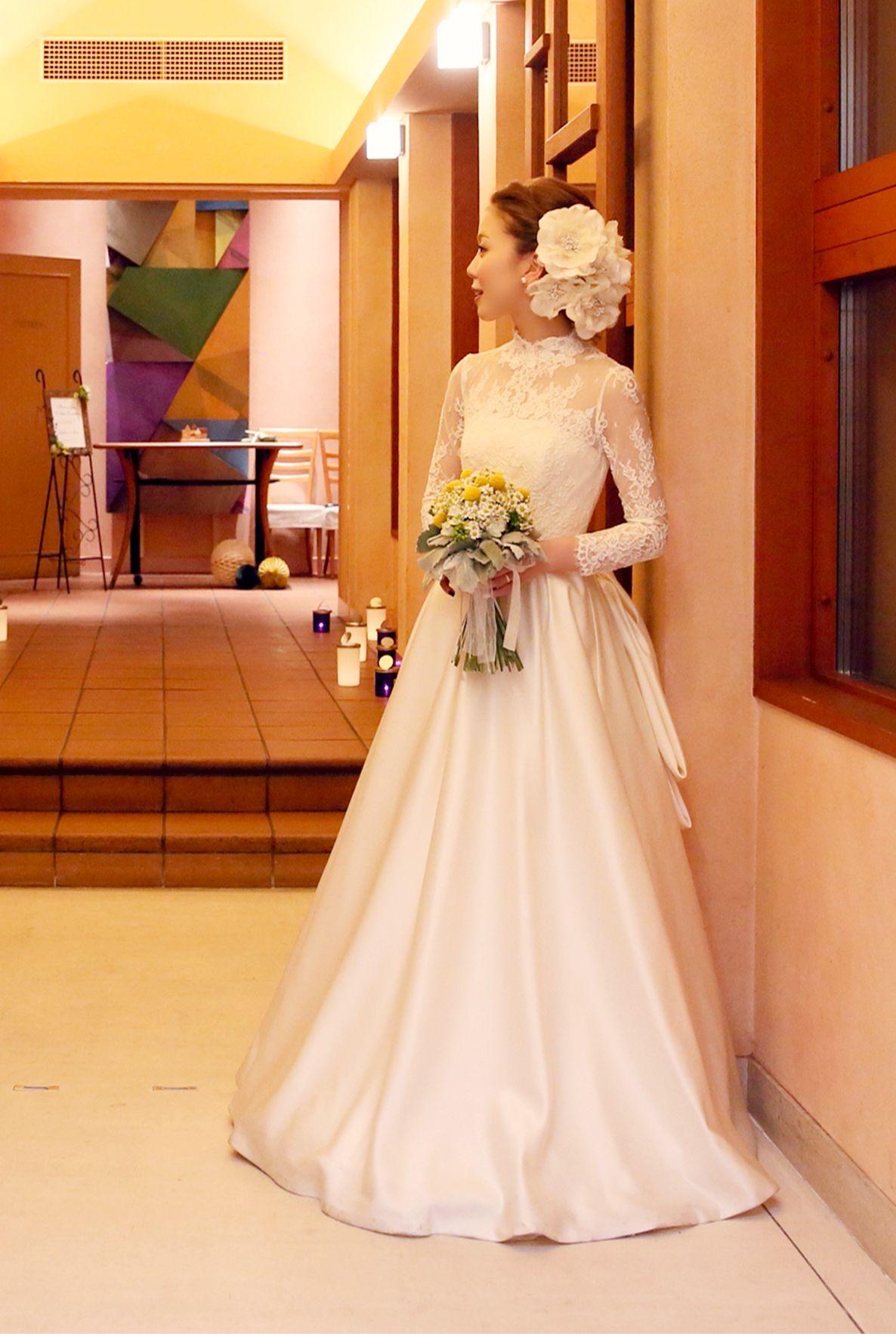 d3a13b1b76fac 軽井沢高原教会にてご結婚式♪ アーネラクロージングの素敵な花嫁様 ...