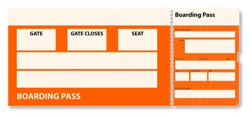 Train Tickets Blank