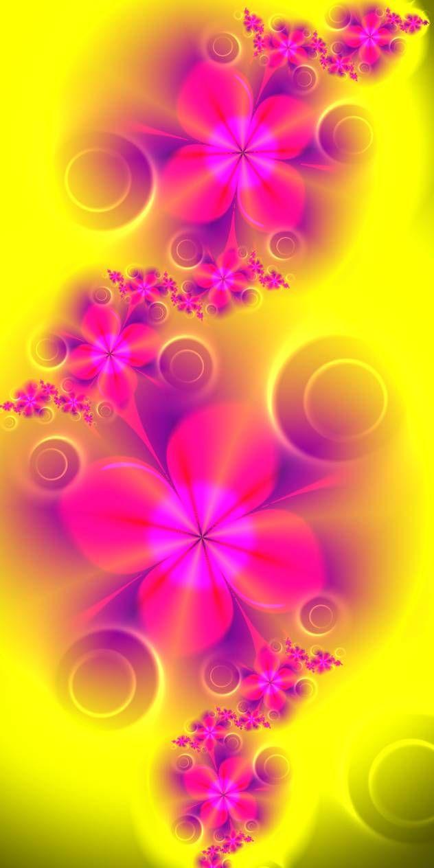 Lovely Pink Flowers by EsmeraldEyes on DeviantArt