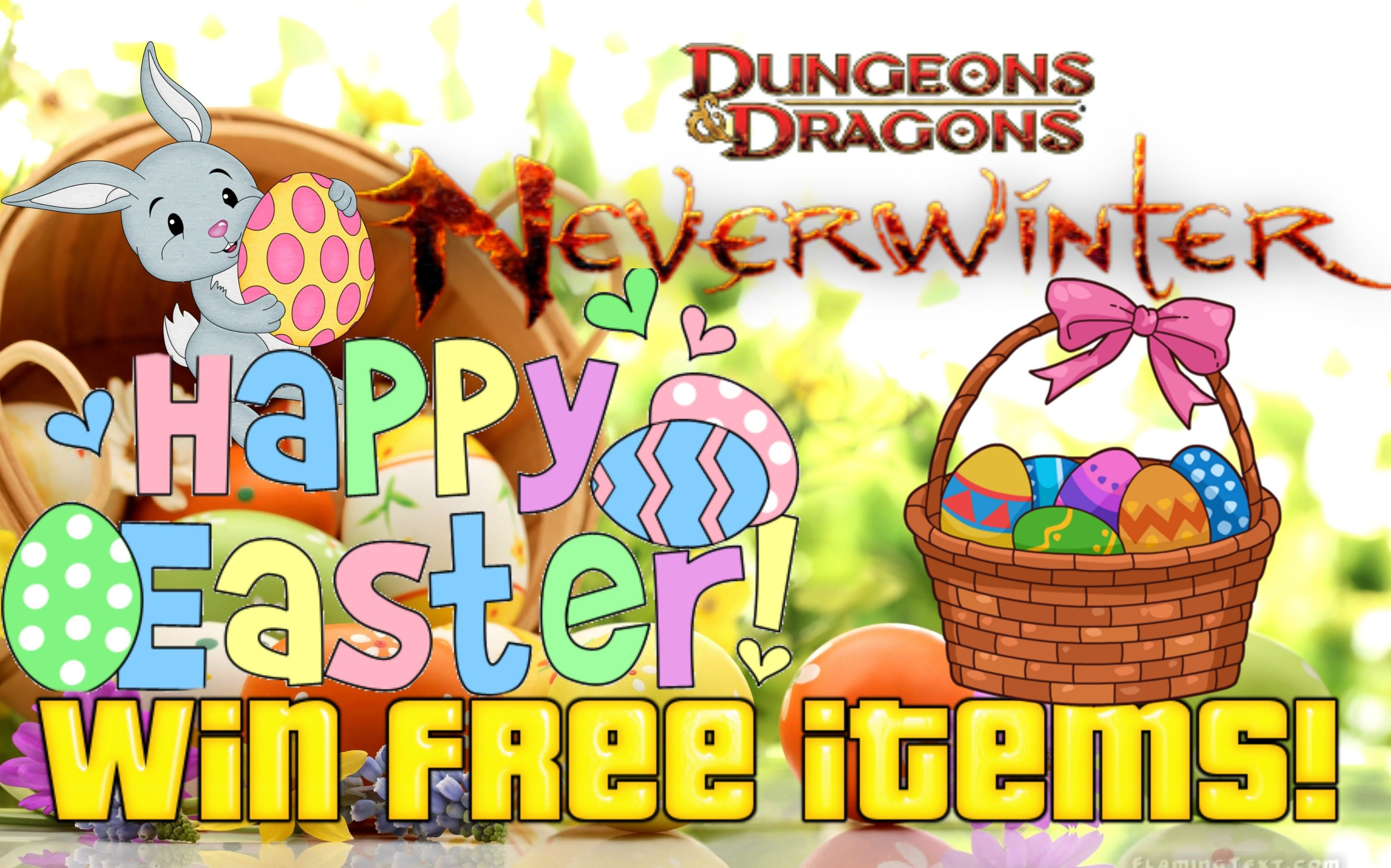 Neverwinter Easter Item Giveaway - Win free items! (XBOX ONE ONLY)