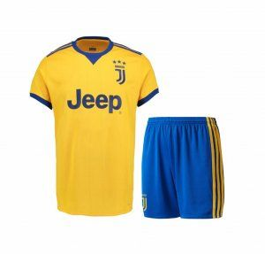 Kids Juventus 2017-18 Season Away Juve Kit  K696   597704b11