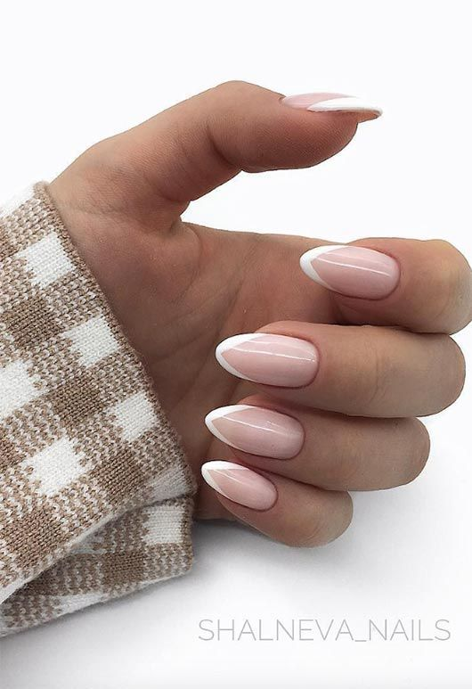 Photo of 27 Fresh French Nail Designs: How To Make French Manicure At Home – New Fr …