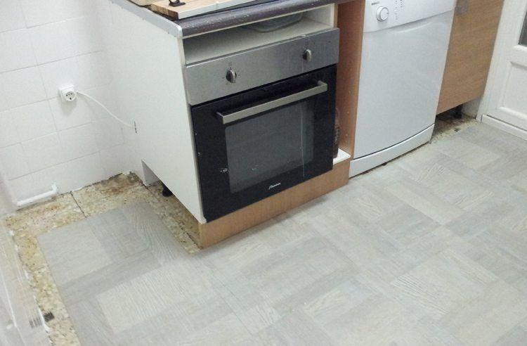 Renovar Suelo Sin Obra Suelos De Vinilo Para Cocina Suelos