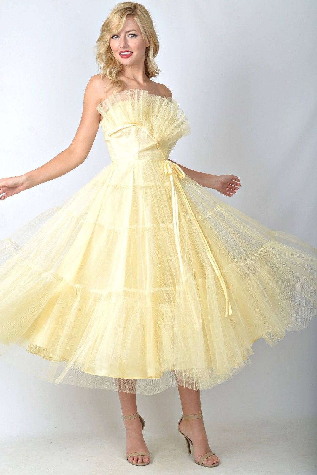 Us party dress found on ebay virtual vintage pinterest s