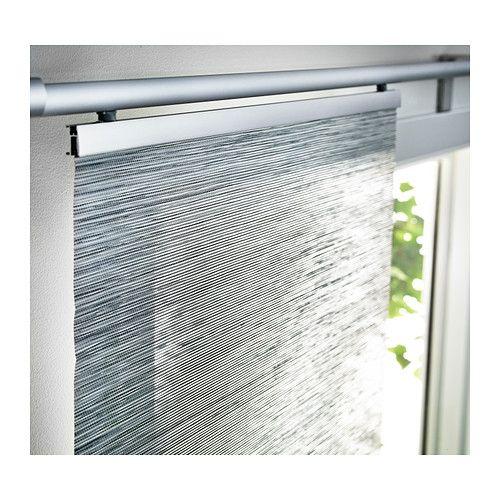 Anno sanela paneelgordijn grijs ikea voor for Ikea tende a pannello