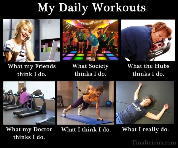 My Daily Workout Actually…. :p