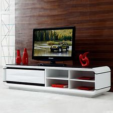 Italian Design High Gloss White Coffee Table Tv Stand 8mm Black Glass Drawers Coffee Table White Coffee Table Glass Coffee Table