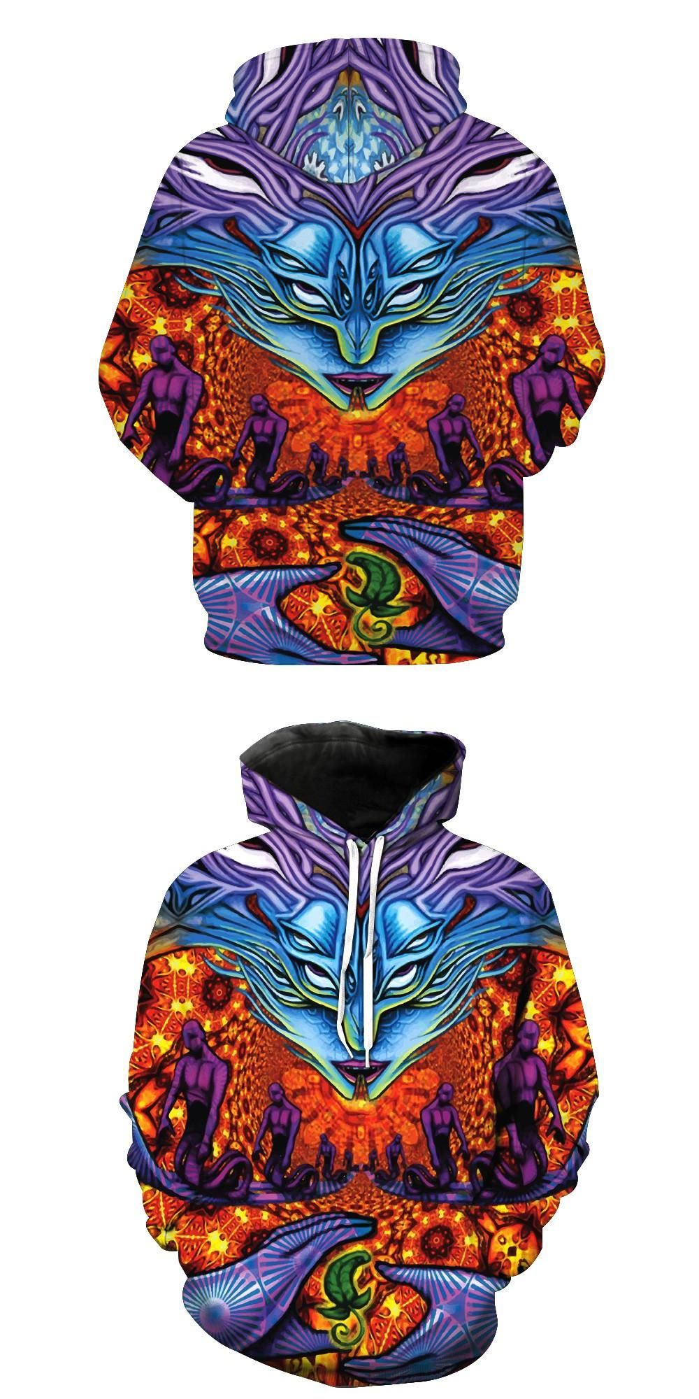 1744ddc02d78 2017 new fashion Cool sweatshirt Hoodies Men women 3D print Cobra gods Snake  man hot Style Streetwear Long sleeve clothing
