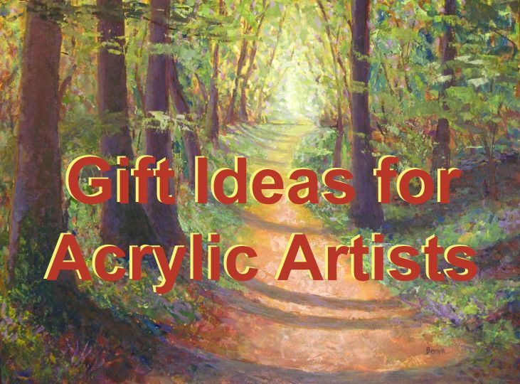 Gift Ideas For Acrylic Painting Artists Acrylic Painting Techniques Artist Painting Painting