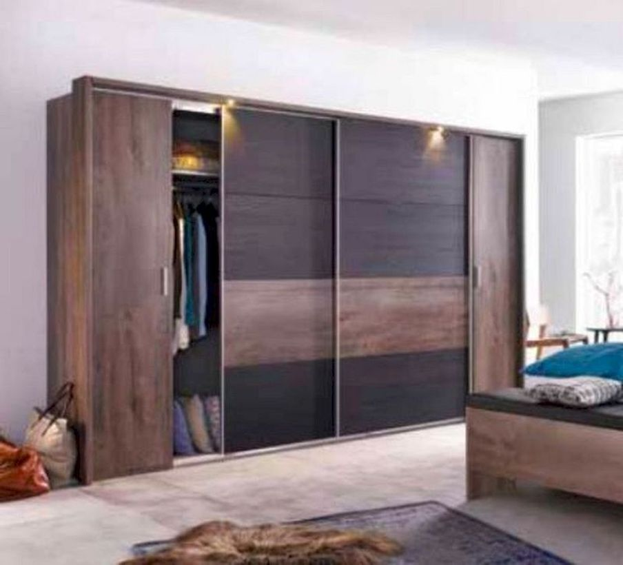 40 Sliding Wardrobe Door Design Ideas For Bedroom That You Must Imitate Sliding Door Wardrobe Designs Wardrobe Door Designs Sliding Wardrobe Doors