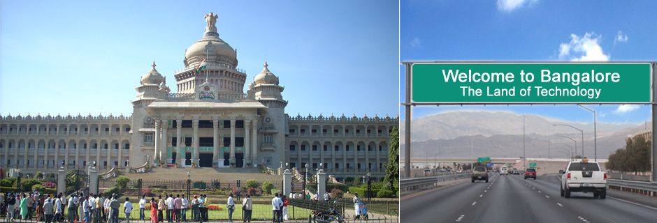 Direction Map Bangalore on