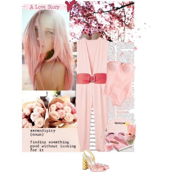 """La Vie en Rose"" by thepeachblossom on Polyvore"