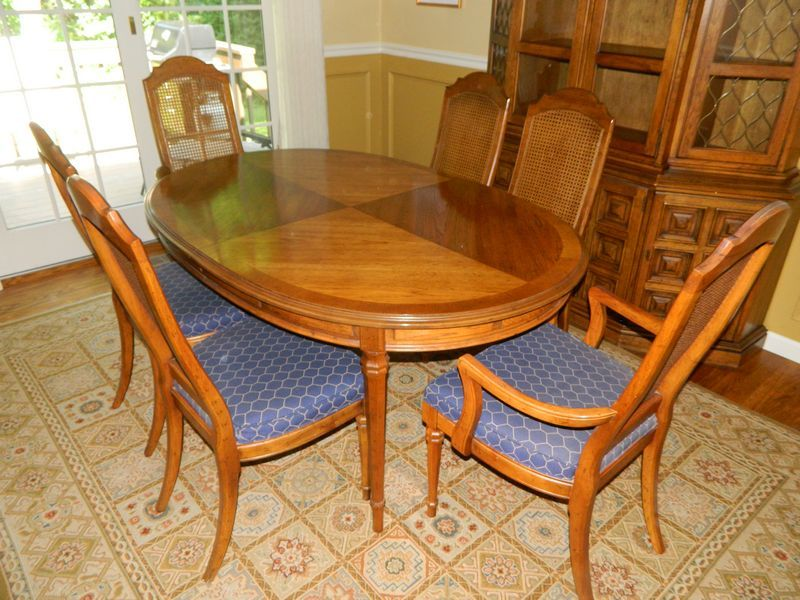 Drexel Esperanto Dining Suite Including Dining Table with 3