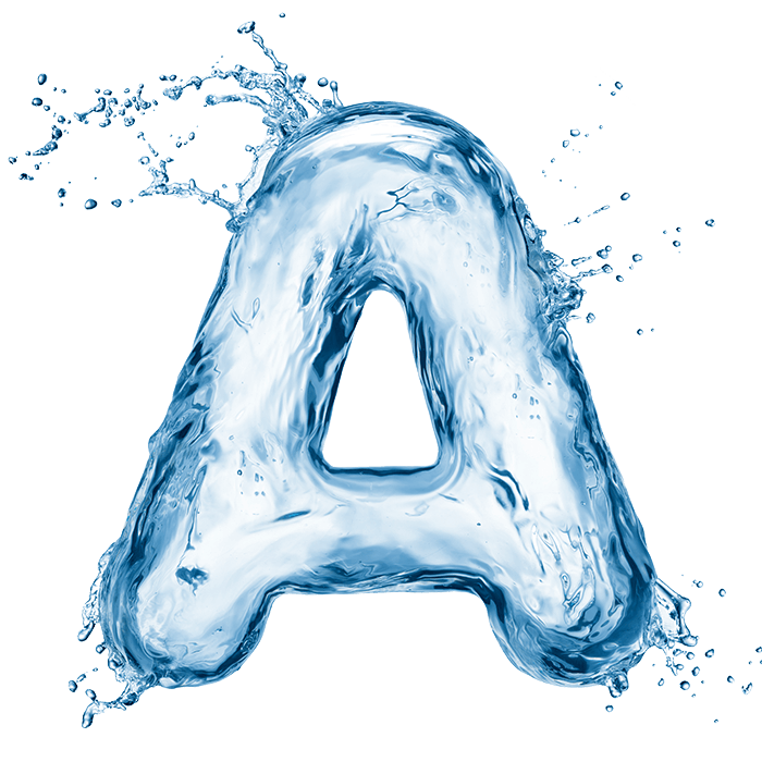 Water Splash Font Swim In Water Typography Ocean Typography Art