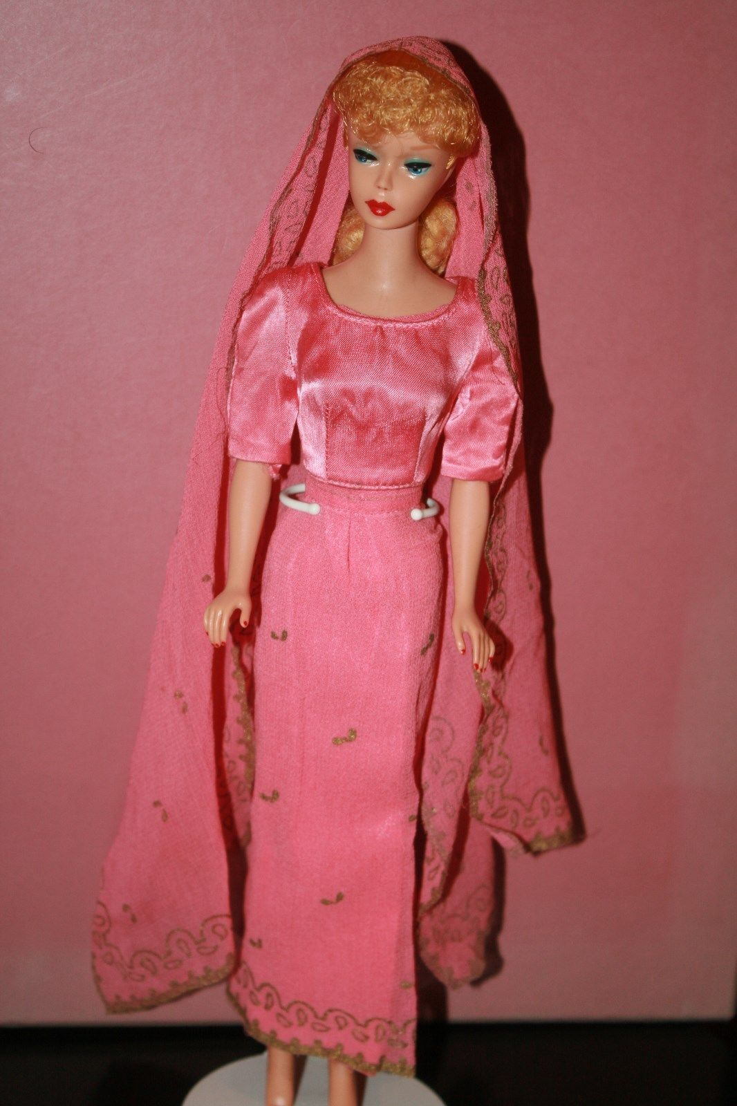 Vintage Barbie-Blonde PONYTAIL #5 Barbie #850 in Arabian Nights (Little Theatre) | eBay