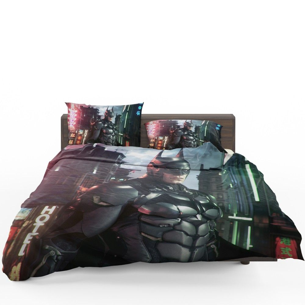 Batman Arkham Games Merchandise Bedding Set Dc Batman