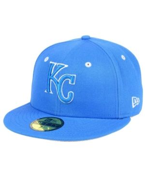 super popular a80a5 1470c New Era Kansas City Royals Pantone Collection 59FIFTY Cap - Blue 7 3 8