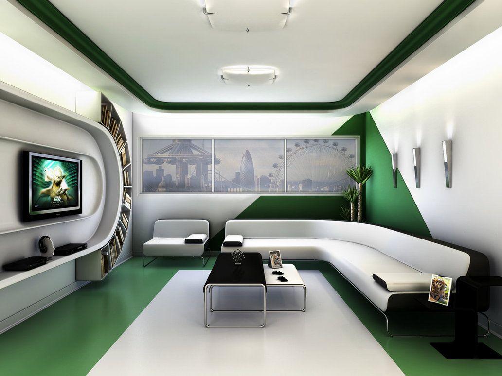 Futuristic Living Room Futuristic Minimalist Living Room Design  Rimostar Interior