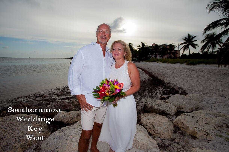 Just The Two Of Us Beach Wedding Package Smathers Beach Wedding Just Before Sunset O Beach Wedding Packages Key West Wedding Photography Sunset Beach Weddings
