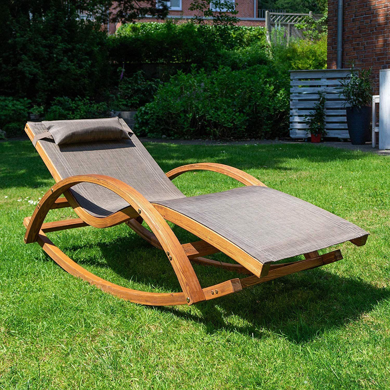 Relax Schaukelstuhl Rio Relaxliege Mit Armlehnen Gartenmöbel Aus Vorbehandeltem Holz Stuhl Braun Schaukelstuhl Schaukel Schaukelstuhl Garten