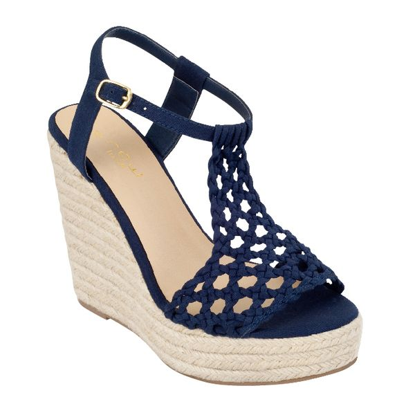 e351cf0fe0c5 Fiesta Navy wedge from Payless Shoes  49.99