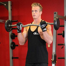 If You Want To Build Those Biceps Fast Then Try The Ez Bar Curl