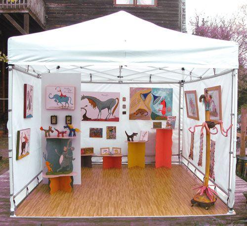 Booth Ideas Love The Floors Art Biz Craft Fair