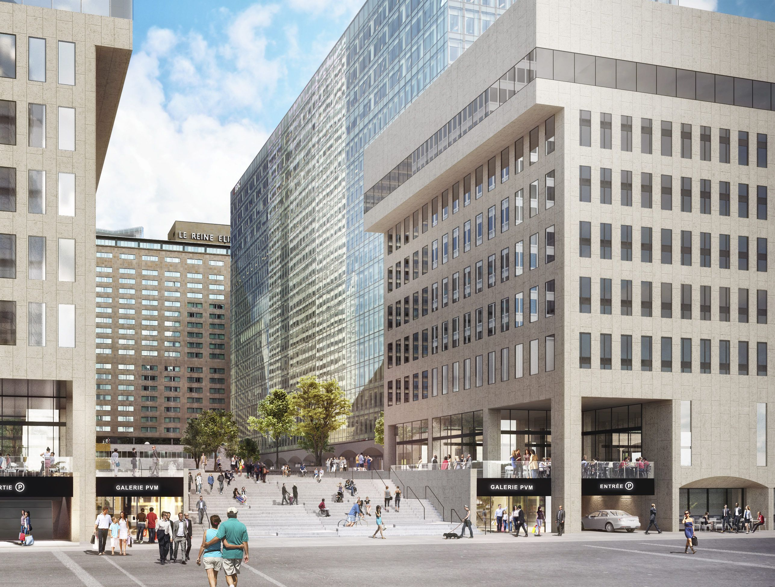 Say Hello To 21st Century Downtown Montreal Ville Marie Montreal Downtown