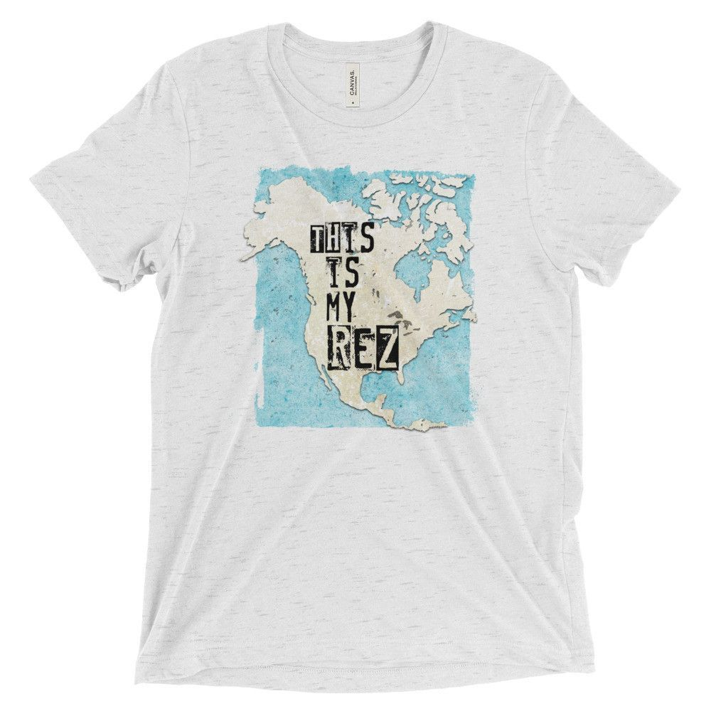 """This is my REZ"" Unisex Short sleeve t-shirt"