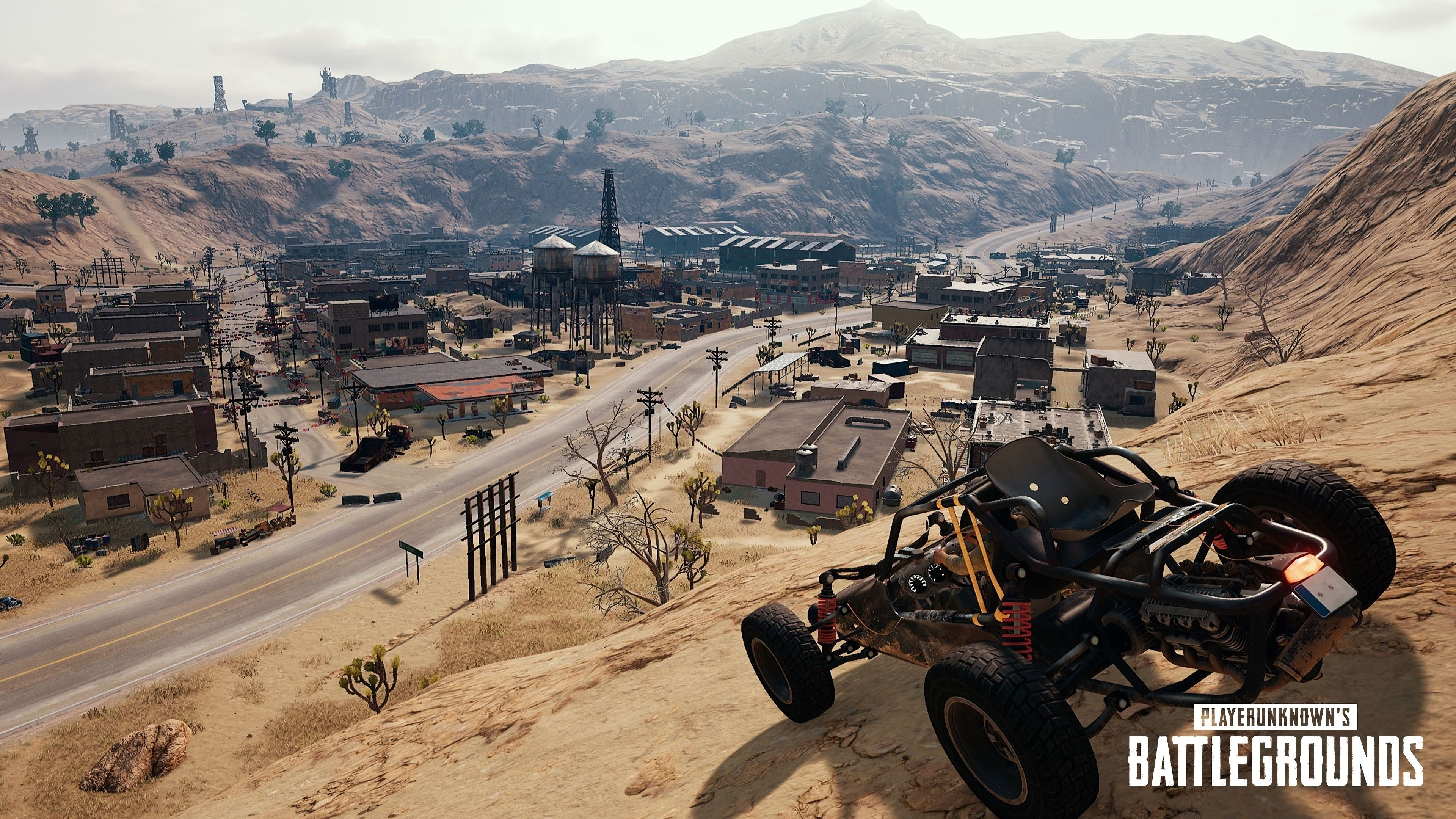 Playerunknown S Battlegrounds Maps Loot Maps Pictures: [4K] PUBG On Xbox One: Miramar Desert Map Analysis + Is